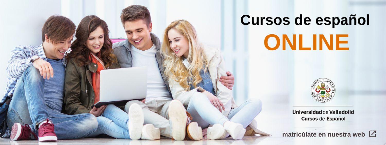 Cursos online español Universidad de Valladolid - banner web