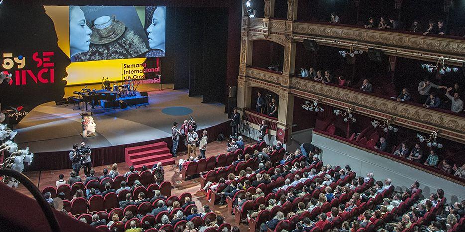 Teatro Calderon durante la Seminci