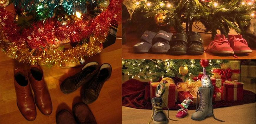 Zapatos y regalos